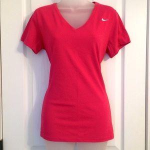 Fuchsia Nike Dri-Fit TShirt